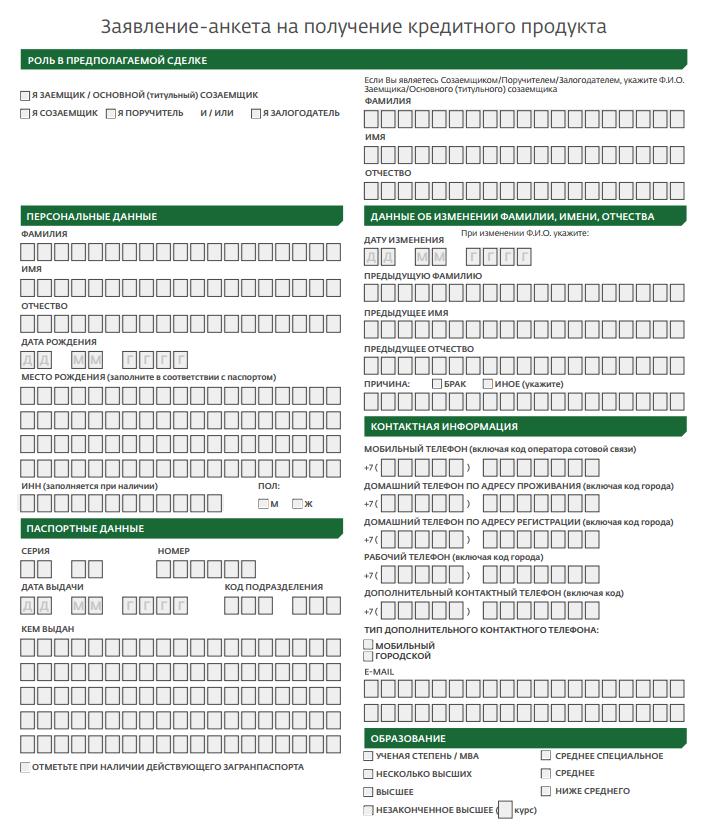 Документы необходимые для оформления кредита в сбербанке пакет документов для получения кредита Мещанская улица