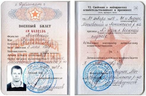 Список того, что нужно для замены водительского удостоверения